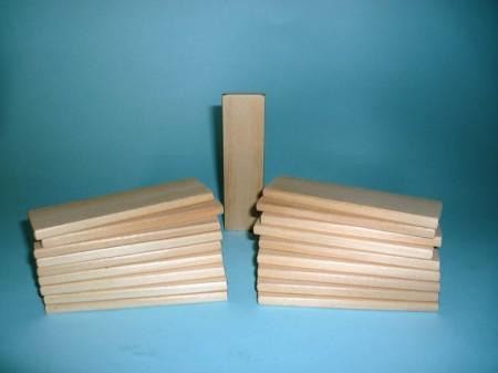 mini edilizia 100 pezzi in legno di tiglio riciclato | Ecology Legno